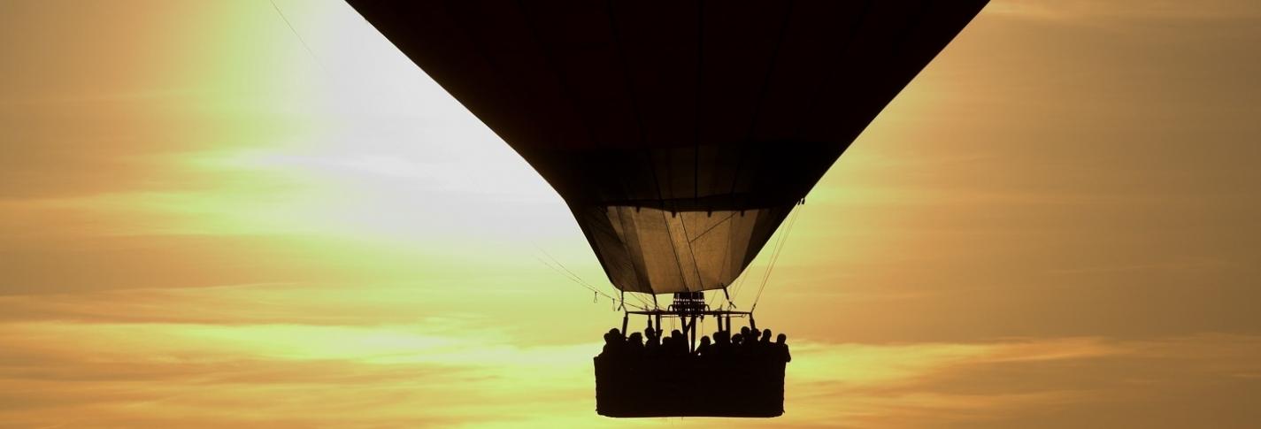 Полёт на воздушным шаре